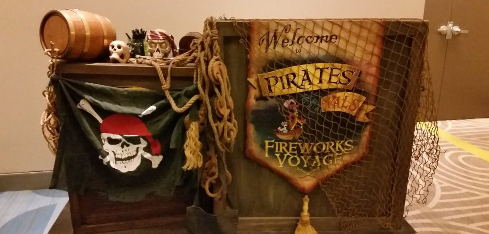 Pirate and Pals Fireworks Voyage