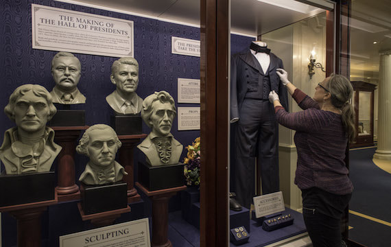 Hall of Presidents reopens