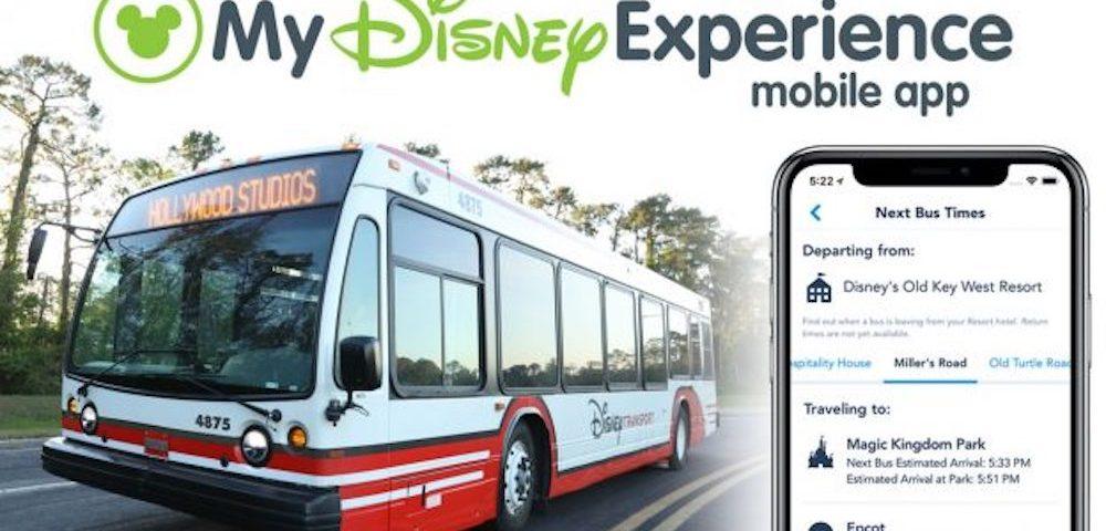 Bus Timesin My Disney Experience App