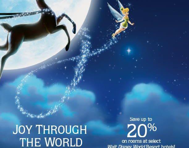 Save 20% on Select Walt Disney World Resort Hotels
