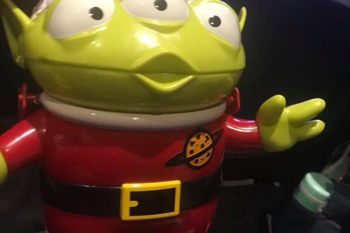 Santa Alien Popcorn Bucket