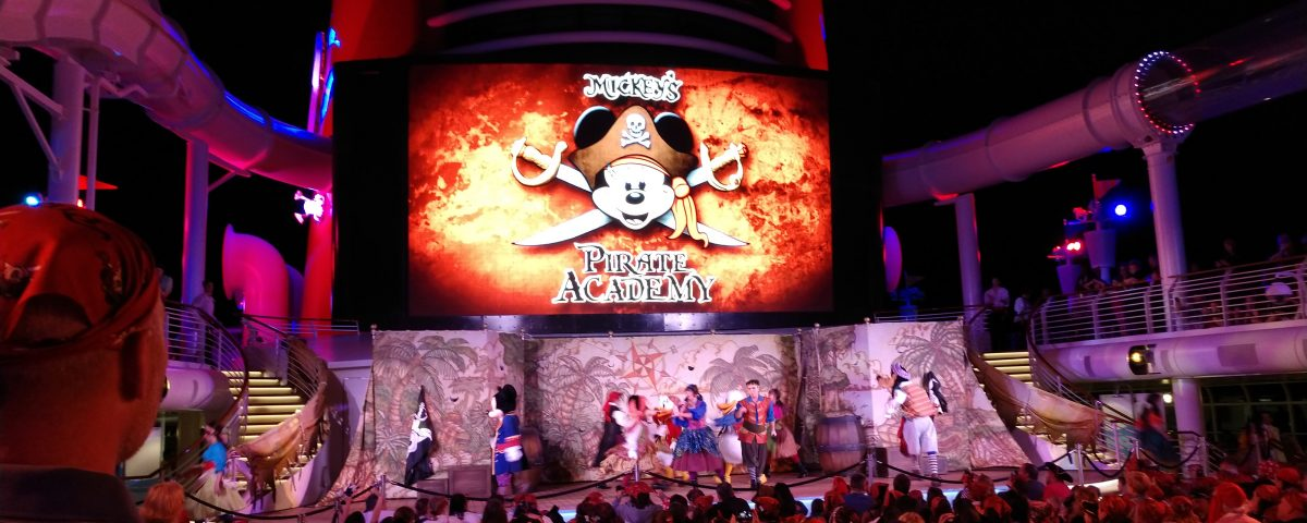 Sail the Caribbean with Mickey's Pirate Academy