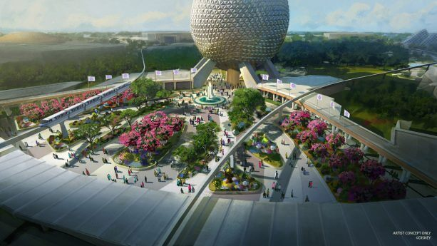 new Epcot entrance