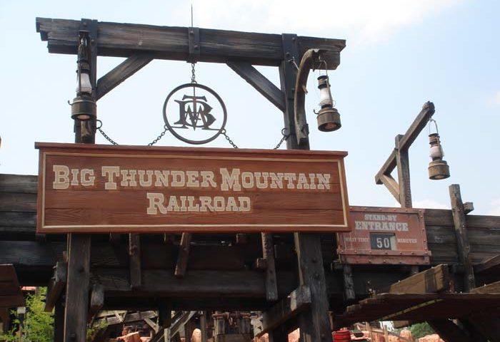 Big Thunder Mountain Railroad Magic Kingdom Walt Disney World