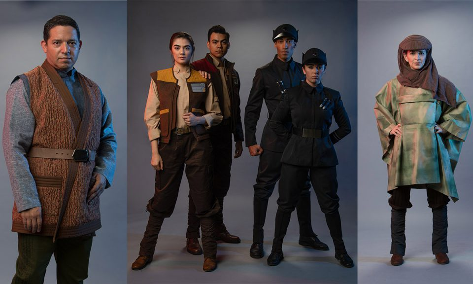 Building Batuu: Cast Members Suit Up for Work in Black Spire Outpost