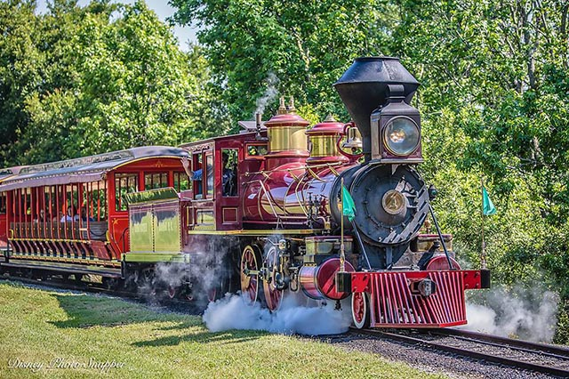 Walt Disney World Railroad Train