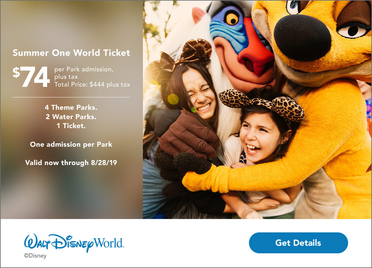 WDW_FY19_Summer-One-World-Ticket_TAS_Web_Bnr_General_1200x864_926845