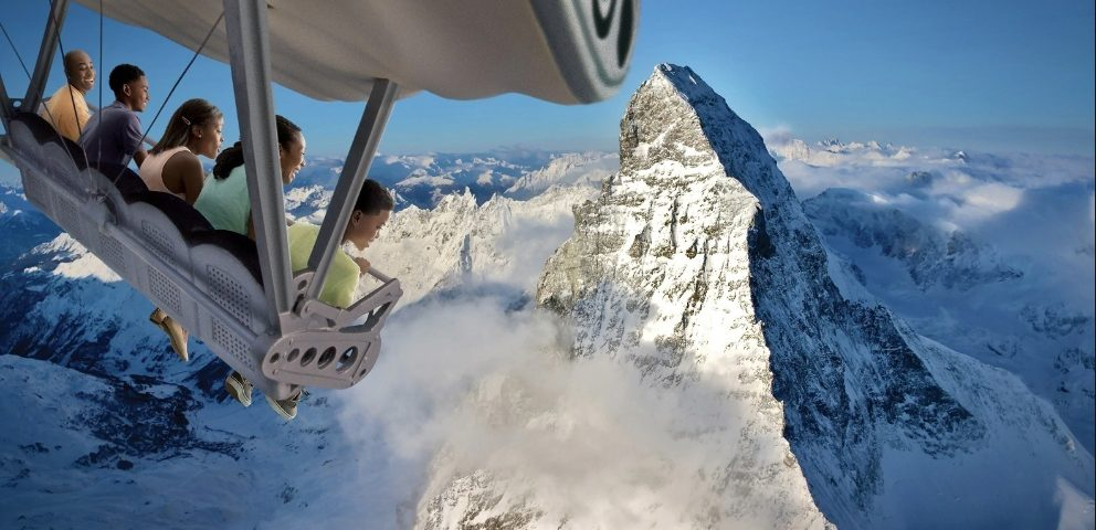 Have you ever wanted the chance to parasail around the world to see many of the great man-made and natural wonders of our world? Here is your chance with Soarin' Around the World.