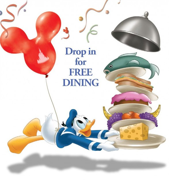 2019 Fall and Winter Free Dining Launches with Today's New Offers for Walt Disney World