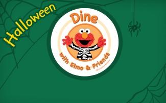 Halloween Dine with Elmo