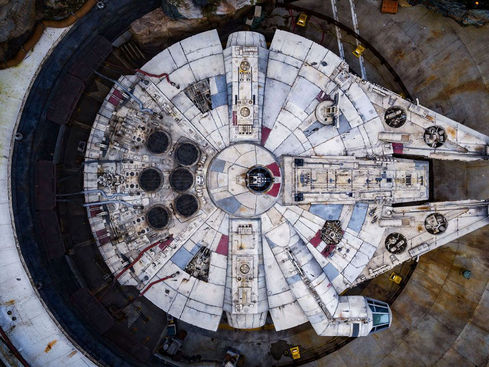 Bird's-Eye View of  Galaxy's Edge