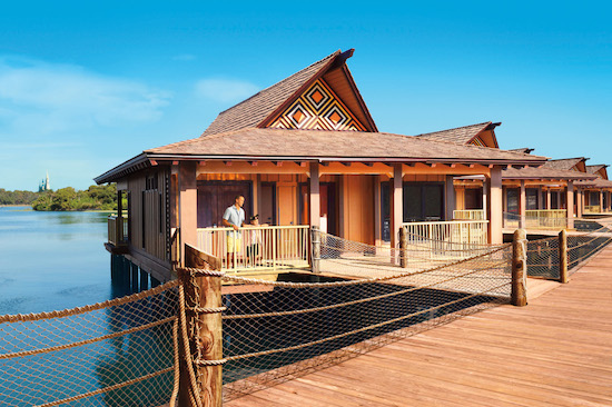 Disney's Polynesian Village Resort Bungalows