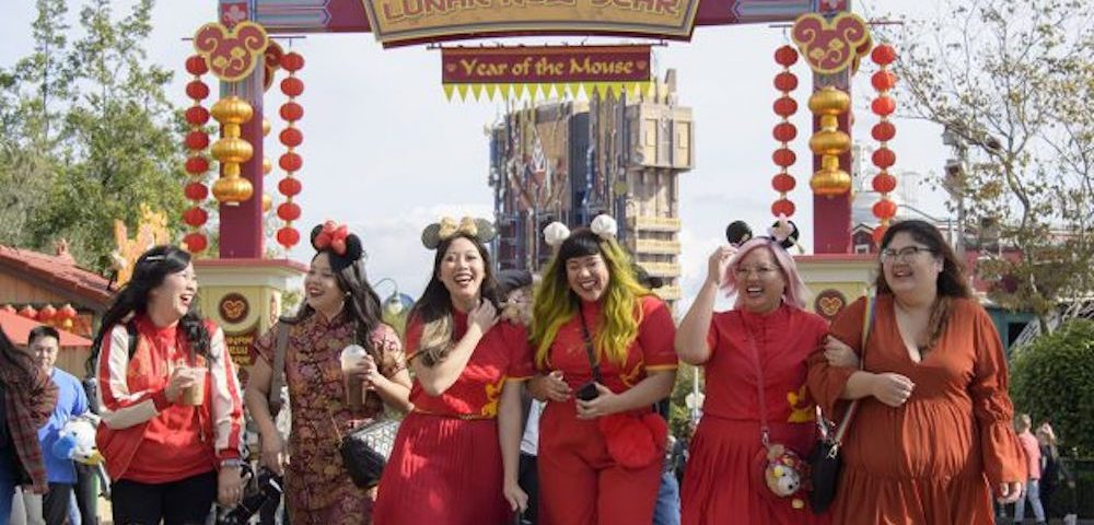 celebrate Lunar New Year at Disney California Adventure Park®! They can ring in the Year of the Mouse with spectacular entertainment, festive eats and family activities that welcome another year of good fortune
