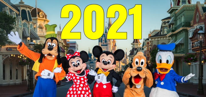 Reservations for 2021 at Walt Disney World are now open!